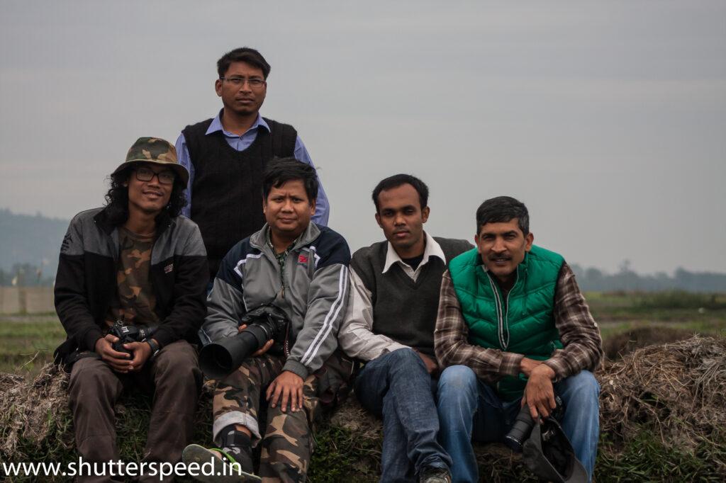 Pobitora WLS Birding Team